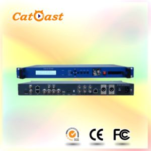 Professional DVB-S2 IRD MPEG-4 Demodulator with Cam pictures & photos