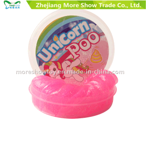 New Magic Unicorn Poo Glitter Putty Slime Novelty Gift Fun Toy pictures & photos