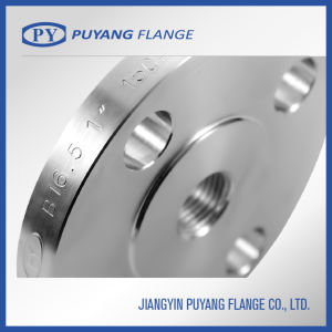 ASME B16.5 Stainless Steel Forged Slip-on Flange (PY00101) pictures & photos