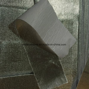 Heat Reflective Aluminum Coated Fiberglass Tape with Adhesive Coating pictures & photos