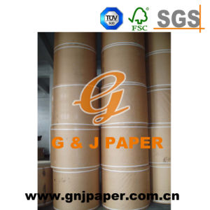 Logo Print 500kgs-1200kgs Top Quality Brown Craft/Kraft Paper pictures & photos