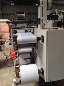 Flexo Printing Machine One Colour with 2 Rotary Die Cutting pictures & photos