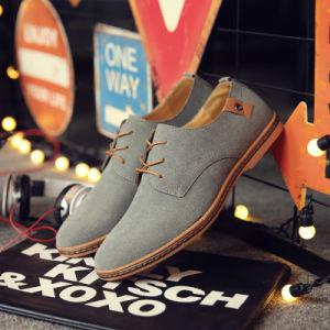 2017 Four Seasons Big Size Men Casual Shoes Stock Shoes Super Fiber Leather Shoes pictures & photos