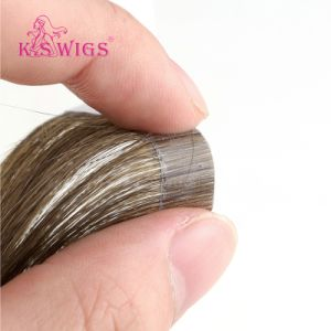 Best Quality Human Hair Extension Virgin Brazilian Tape in Hair pictures & photos