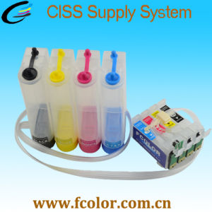 T2201 Cartridge for Epson Wf-2750 Wf-2760 CISS Ink System with Auto Reset Chip pictures & photos