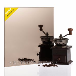 3-6mm Bathroom Silver Bronze Mirror Clear Sheet Mirror with Frameless pictures & photos