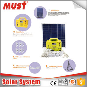 20W 18V Mini Solar System for MP3 Radio pictures & photos