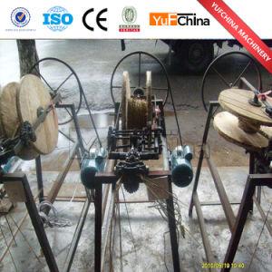 Coir Straw Rope Spinning Machine / Round Rope Braiding Machine Price pictures & photos