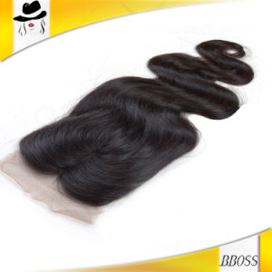 Hot Selling 3 Way Side Part Hair Closure Synthetic pictures & photos