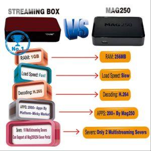 Ott/IPTV Streaming Amlogic Quad Core Set Top Box pictures & photos