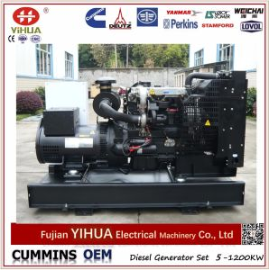 Yangdong Power Electric Open Diesel Generator Set with ATS for Option (10-62.5kVA/8-50kw) pictures & photos