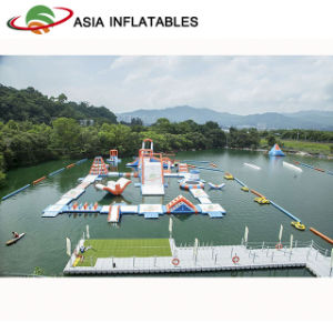 Lake Aqua Water Park Inflatables, Inflatable Commercial Water Park for Beaches pictures & photos