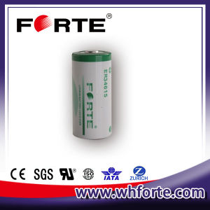 19ah Er34615 3.6V D Size Lithium Battery Used in AMR/ Military Instrument/Meter pictures & photos