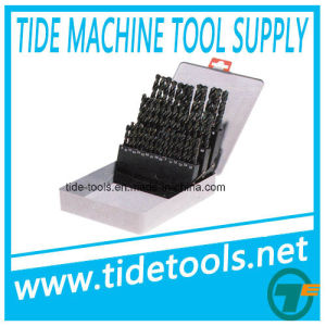 Metric and Inch Straight Shank Twist Drill Set pictures & photos