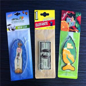 Custom Car Shaped Paper Air Freshener (JP-AR030) pictures & photos
