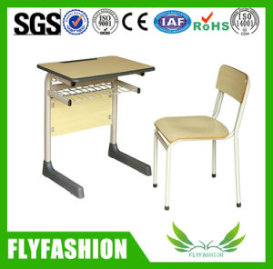 Education Furniture Single Student Table with Chair (SF84S) pictures & photos