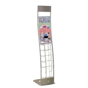 Metal Wire Books Display Rack