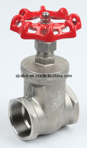 Ss316 Industrial Screwed Gate Valve pictures & photos