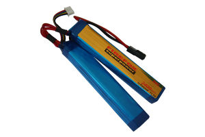 Firefox 11.1V 2400mAh Li-Po Li-Polymer Military Battery 20c Twins