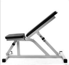 Easy Decline/Flat 4 Position Utility Sit up Bench pictures & photos