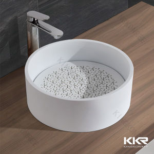 China Wholesale Commercial Oval Round Bathroom Sinks