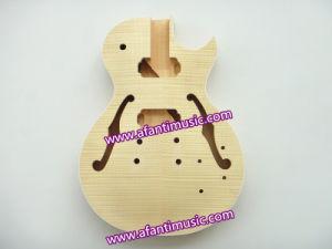 Jazz Guitar/ Precise F Holes/ Afanti DIY Electric Guitar Kit (AGK014) pictures & photos