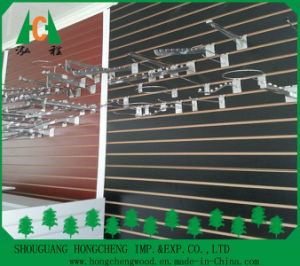 New Design Melamine Slotted MDF Board /Slatwall MDF pictures & photos