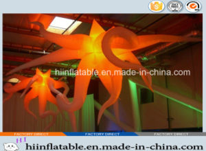 2015 Hot Selling LED Lighting Decorative Inflatable Star 0009 for Club, Bar, Party Decortion