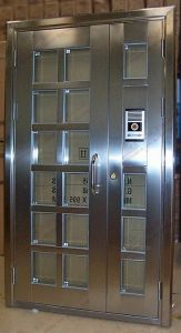Top Quality Commercial Stainless Steel Entry Door (BHS-DC14) pictures & photos