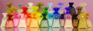 High-Quality Wedding Favor Organza Gift Bag with Satin Ribbon pictures & photos