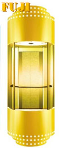 Golden Observation Elevator/ Lift (panoramic elevator) pictures & photos