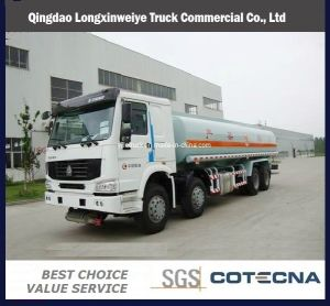 Sinotruk HOWO Heavy Duty 336HP 8X4 Fuel Tank Truck pictures & photos