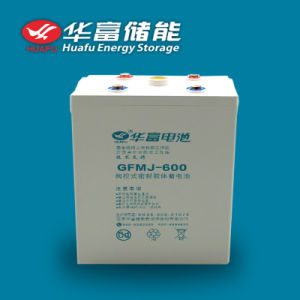 2V 600ah Solar Storage VRLA Deep Cycle Gel Battery pictures & photos