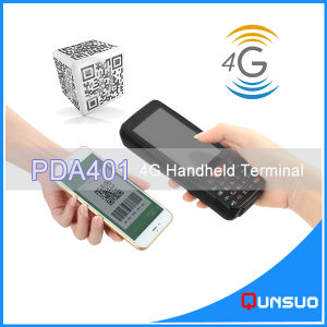 Mini Wireless Mobile Android Handheld Payment Barcode Scanner Data Collector All in One with NFC Reader pictures & photos