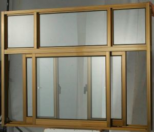 Hot Sale Aluminum Sliding Window, Doble Glass Window pictures & photos