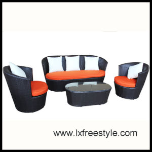 SGS Pass Wicker Furniture with UV Resistant Wicker Weaven (SF-018)