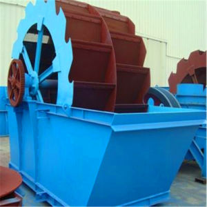 Gravel Wheel Bucket Sand Washer Machine with Ce and ISO pictures & photos