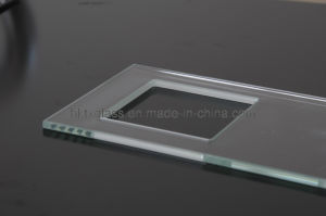 Tempered Water Jet Cutting Glass Panel EN12150 Approved pictures & photos