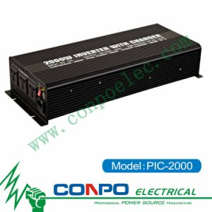 Pic-2000 2000W Modified Sine Wave Inverter with Charger pictures & photos