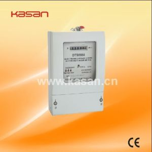 Dts5558 Three Phase Energy Meter pictures & photos