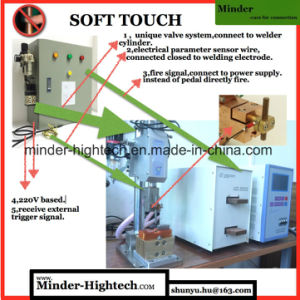 Finger Protected Pneumatic Spot Welding Machine pictures & photos