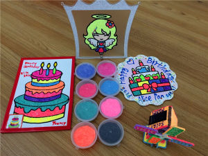 24 Color Pack DIY Foam Clay New Arrival Kids Toy Magic Foam Polymer Clay, Play Dough pictures & photos