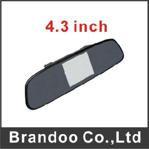 Car Rear Mirror LCD Monitor with 4.3 Inch LCD Screen Bd-7143 pictures & photos