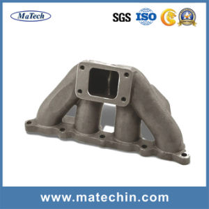 Custom Precise Ductile Iron Casting for Turbo Exhaust Manifold pictures & photos