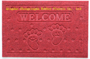 3G Embossing Door Mats with PVC Backing for Floor pictures & photos