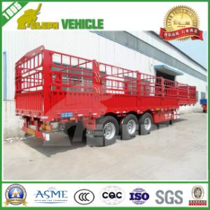 BPW Axles Steel Suspension High Wall Transport Animal Trailer pictures & photos