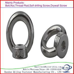 Carbon Steel Eye Nut M10 M12 Galvanized pictures & photos