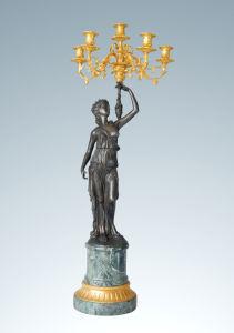 Candleholder Series Bronze Sculpture (CH-021J)