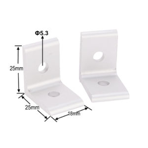 2 Hole Inside Corner Bracket for Aluminum Profile 2020 Series pictures & photos