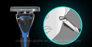 Six Blade Razor -6 Blade Shaving Surface +1 Precision Trimmer 6+1 Blade pictures & photos